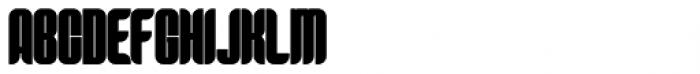 Predictor Bold Font UPPERCASE