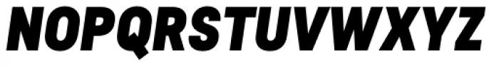Predige Black Italic Font UPPERCASE