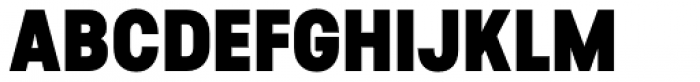 Predige Black Font UPPERCASE