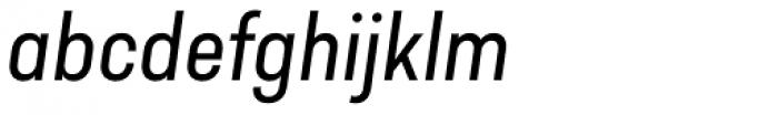 Predige Italic Font LOWERCASE