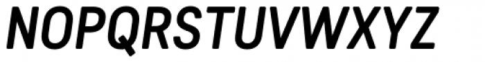 Predige Rounded Medium Italic Font UPPERCASE