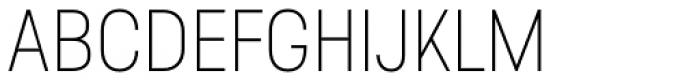 Predige Thin Font UPPERCASE