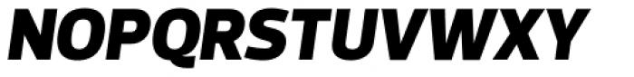Prelo Black Italic Font UPPERCASE