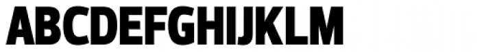 Prelo Condensed Black Font UPPERCASE