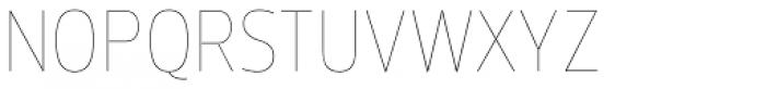 Prelo Condensed Hairline Font UPPERCASE