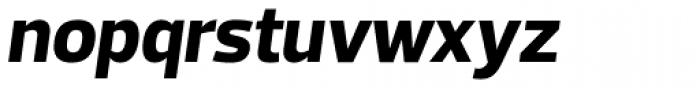 Prelo ExtraBold Italic Font LOWERCASE