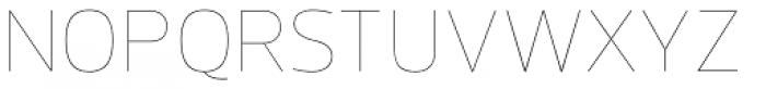 Prelo Hairline Font UPPERCASE