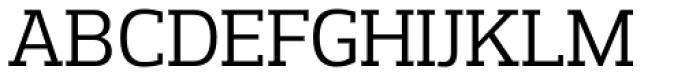 Prelo Slab Book Font UPPERCASE
