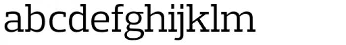 Prelo Slab Book Font LOWERCASE