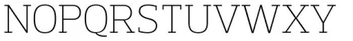 Prelo Slab ExtraLight Font UPPERCASE