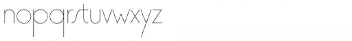 Premier Com Lightline Font LOWERCASE