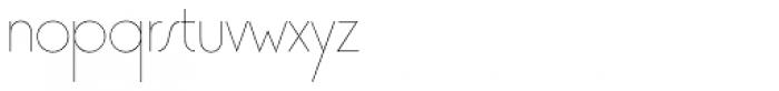 Premier Lightline Font LOWERCASE