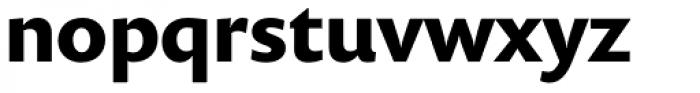 Prenton RP Pro Bold Font LOWERCASE