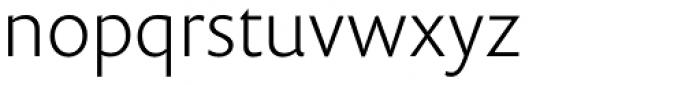 Prenton RP Pro Light Font LOWERCASE