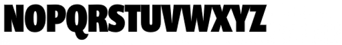 Prenton RP UltraCond Black Font UPPERCASE