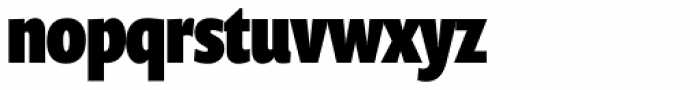 Prenton RP UltraCond Black Font LOWERCASE