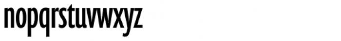 Prenton RP UltraCond Font LOWERCASE
