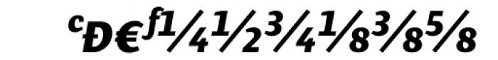 Presence Expert Bold Italic Font UPPERCASE