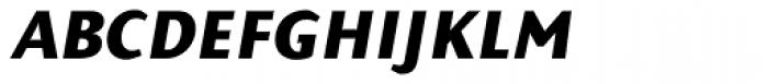 Presence Expert Bold Italic Font LOWERCASE