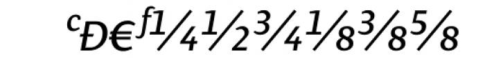 Presence Expert Italic Font UPPERCASE