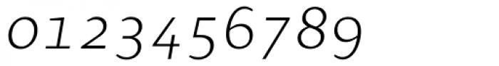 Presence Expert Light Italic Font OTHER CHARS