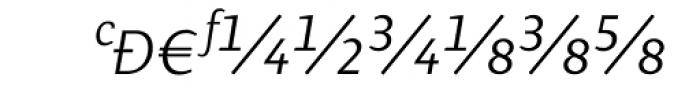 Presence Expert Light Italic Font UPPERCASE