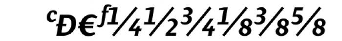 Presence Expert Medium Italic Font UPPERCASE