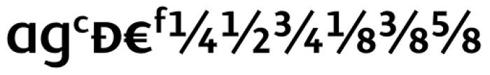 Presence Expert Medium Font UPPERCASE