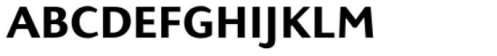 Presence Expert Medium Font LOWERCASE