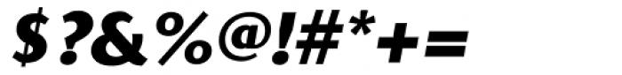 Presence ExtraBold Italic Font OTHER CHARS