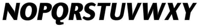 Presence ExtraBold Italic Font UPPERCASE