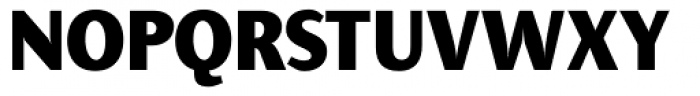 Presence ExtraBold Font UPPERCASE