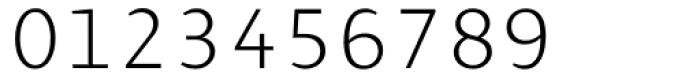 Presence Light Font OTHER CHARS