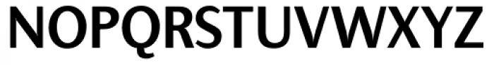 Presence Medium Font UPPERCASE