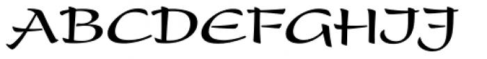 Present Bold Font UPPERCASE