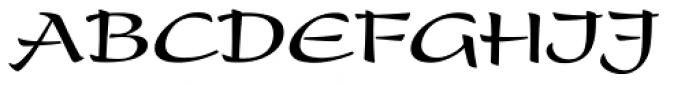 Present Com Bold Font UPPERCASE