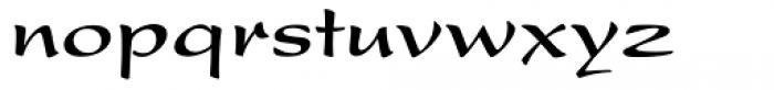 Present Com Bold Font LOWERCASE