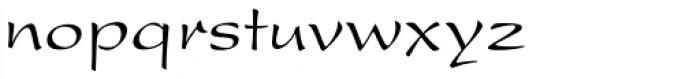 Present Roman Font LOWERCASE