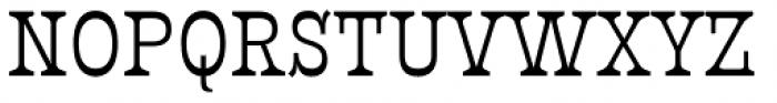 Presley Slab Regular Font UPPERCASE