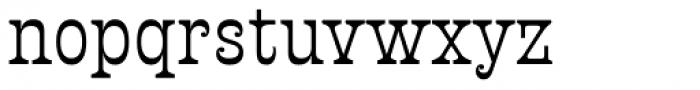 Presley Slab Regular Font LOWERCASE