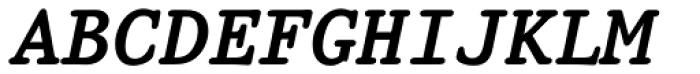 Prestige 12 Pitch Bold Italic Font UPPERCASE