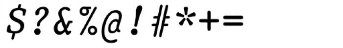 Prestige 12 Pitch Italic Font OTHER CHARS