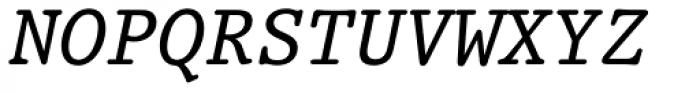 Prestige 12 Pitch Italic Font UPPERCASE