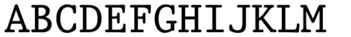 Prestige 12 Pitch Roman Font UPPERCASE
