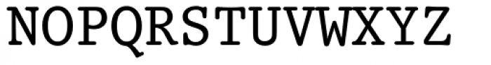 Prestige 12 Pitch Font UPPERCASE