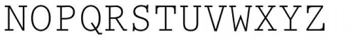 Prestige Elite Font UPPERCASE