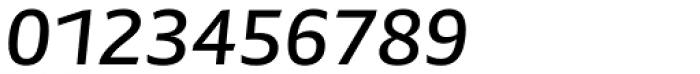 Preto Sans Medium Italic Font OTHER CHARS