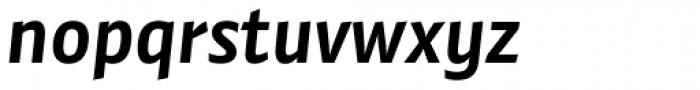 Preto Sans OT Std Bold Italic Font LOWERCASE