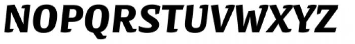 Preto Semi Black Italic Font UPPERCASE