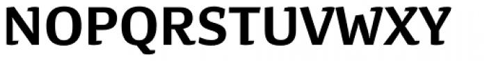 Preto Semi Bold Font UPPERCASE